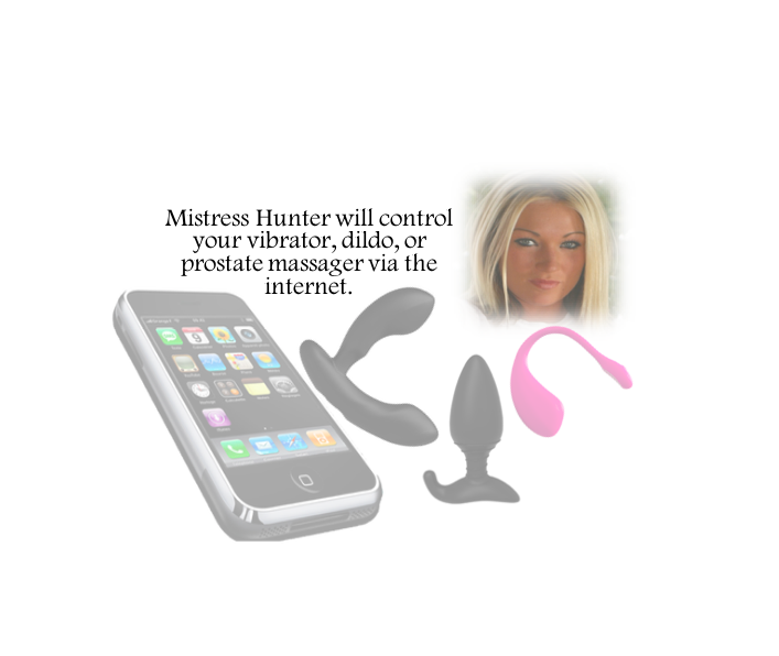 Mistress Hunter Controls Your Sex Toy