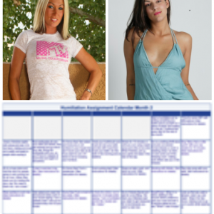 Humiliation Assignment Calendar Month 2